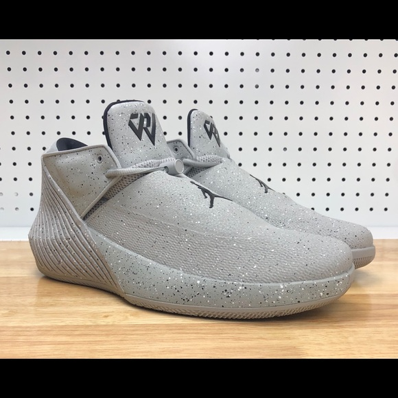 factory authentic 4674e 7768b Nike Air Jordan Why Not ZerO.1 Low Cement Grey